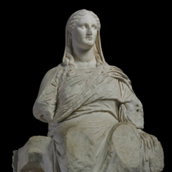 Statue of the goddess Demeter